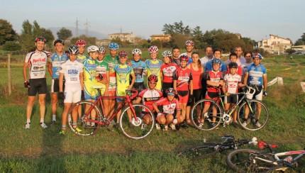 prova percorso bike park fuoristrada Anagni