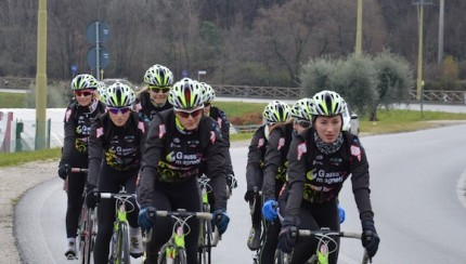 Cicli Mata Team Gauss in ritiro