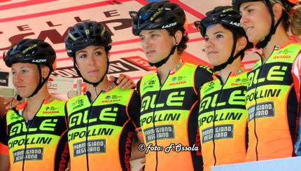 Alè Cipollini al Giro Rosa - Foto OSSOLA